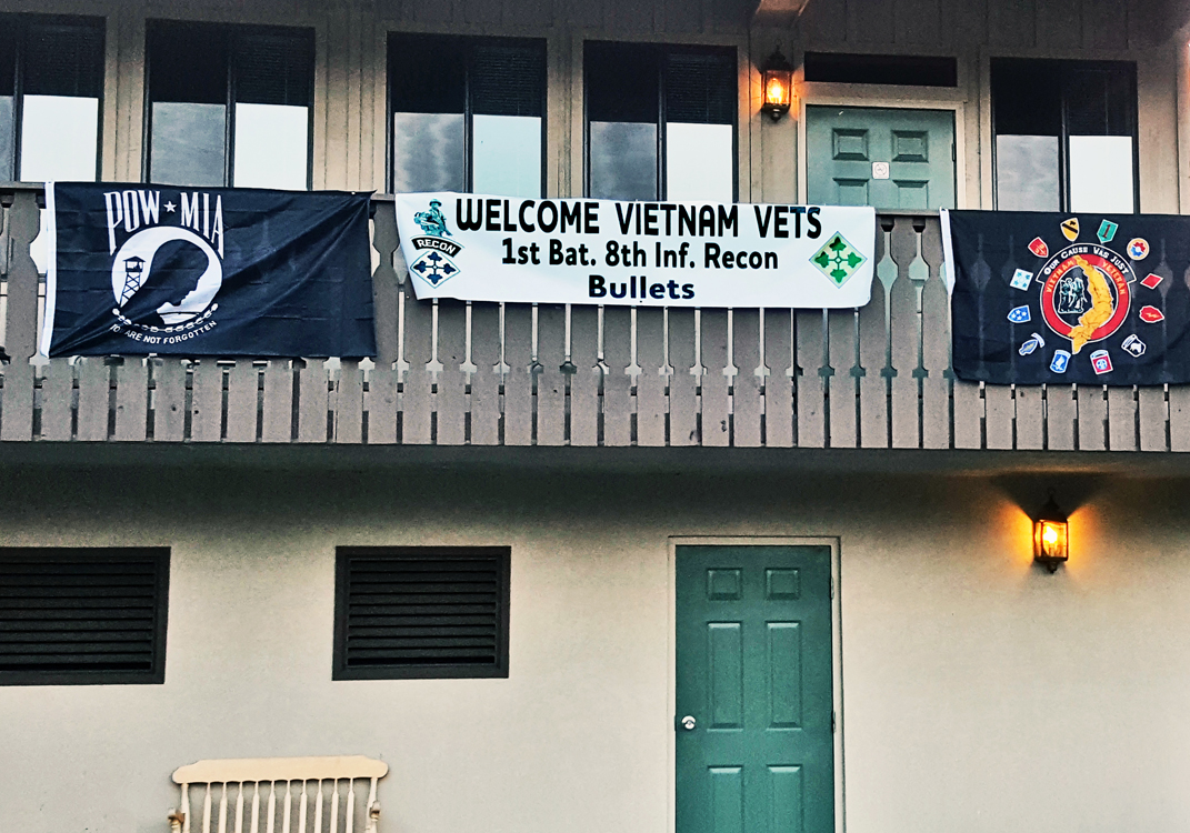 1/8th Reunion 2018 Townsend, Tn Welcome Banner